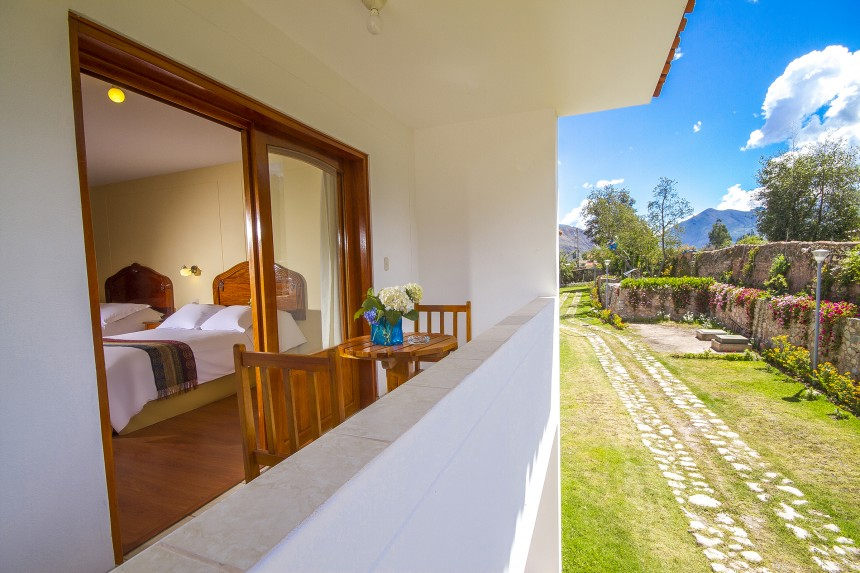 Triple Rooms - Garden views - Hotel Agustos Urubamba